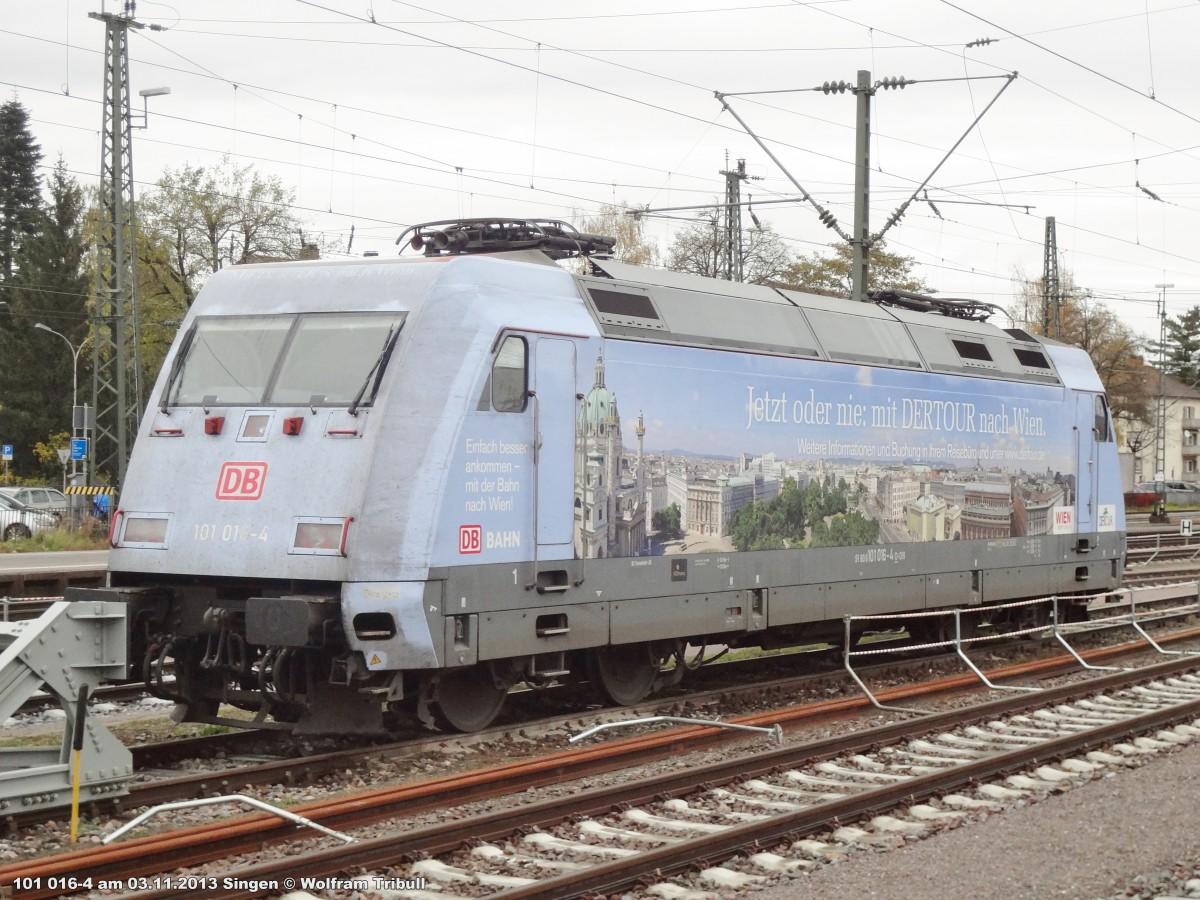 101 016-4 aufgenommen am 03.11.2013 im Bahnhof Singen (Hohentwiel)