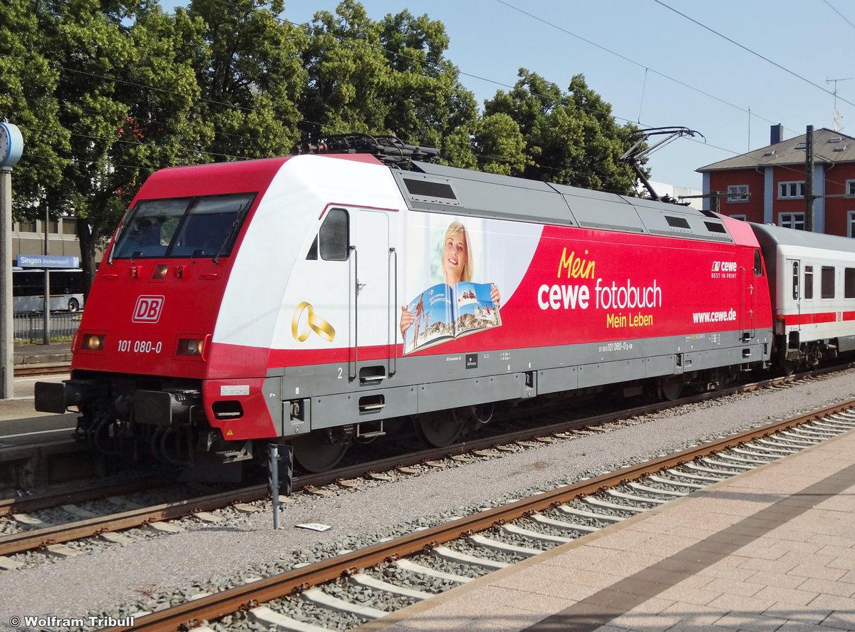 101 080-0 aufgenommen am 13.07.2013 im Bahnhof Singen