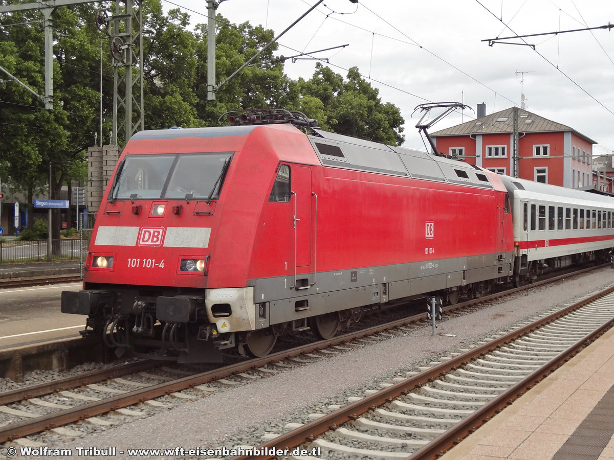 101 101-4 aufgenommen am 23.06.2013 im Bahnhof Singen (Hohentwiel)