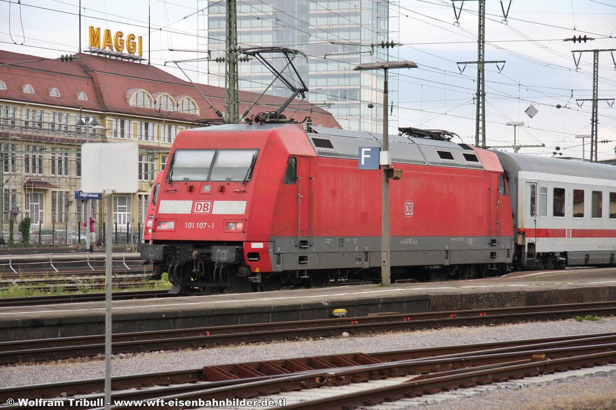 101 107-1 aufgenommen am 22.07.2012 im Bahnhof Singen (Hohentwiel)