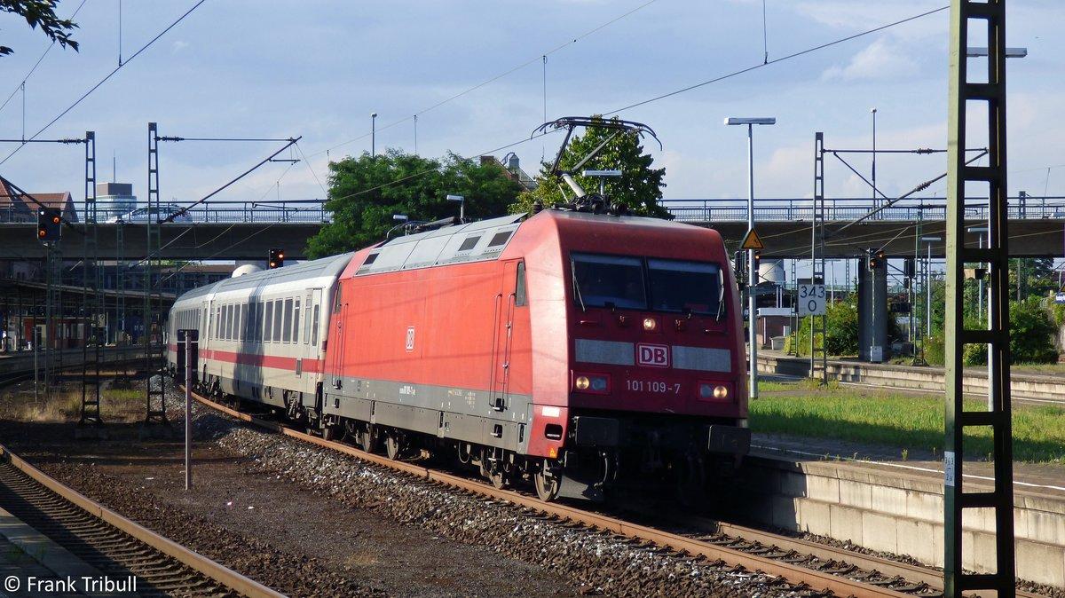 101 109-7 aufgenommen am 12.08.2014 im Bahnhof Hamburg-Harburg