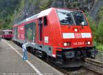 146-236-5/593470/146-236-5-aufgenommen-am-14092014-auf 146 236-5 aufgenommen am 14.09.2014 auf dem Bahnhofsfest 2014 im Bahnhof Triberg