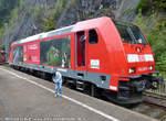 146-236-5/593471/146-236-5-aufgenommen-am-14092014-auf 146 236-5 aufgenommen am 14.09.2014 auf dem Bahnhofsfest 2014 im Bahnhof Triberg