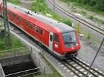 611-048-9/46323/der-triebwagen-611-048-9-auf-den Der Triebwagen 611 048-9 auf den Weg von Ulm nach Neustadt/Schwarzwald bei der Einfahrt in den Donaueschinger Bahnhof am 24.05.09.